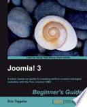 Joomla  3 Beginner s Guide