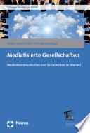 Mediatisierte Gesellschaften