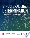 Structural Load Determination 2018 Ibc And Asce Sei 7 16