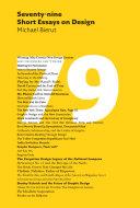 download ebook seventy-nine short essays on design pdf epub
