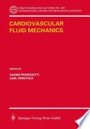 Cardiovascular Fluid Mechanics