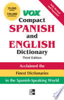 Vox Compact Spanish and English Dictionary  Third Edition  Paperback