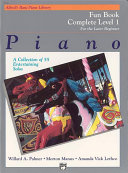 Alfred's Basic Piano Course: Fun Book Complete 1 (1A/1B)