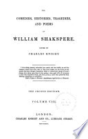 The Comedies  Histories  Tragedies  and Poems of William Shakspere  Hamlet  Cymbeline  Othello