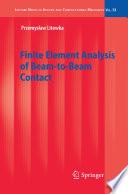Finite Element Analysis Of Beam To Beam Contact