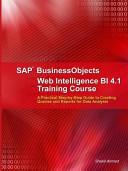 SAP Businessobjects Web Intelligence 4 1 Training Course