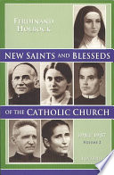 New Saints and Blesseds of the Catholic Church