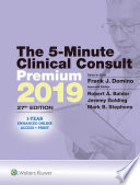 The 5 Minute Clinical Consult 2019