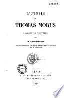 L'Utopie de Thomas Morus