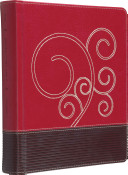 ESV Journaling Bible (TruTone, Raspberry/Chocolate, Flourish Design) : for anyone interested in recording their spiritual...
