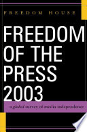 Freedom of the Press 2003