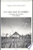 Un village en for  t