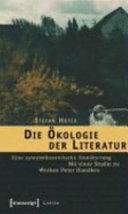 Die Ökologie der Literatur