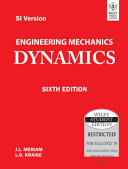 ENGINEERING MECHANICS  DYNAMICS  6TH ED