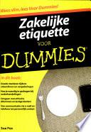 Zakelijke Etiquette Voor Dummies
