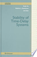 Stability Of Time Delay Systems book