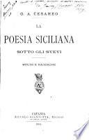 La poesia siciliana sotto gli Svevi