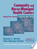 Community and Nurse Managed Health Centers