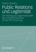 Public Relations und Legitimität