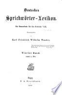 Deutsches Sprichw  rter Lexikon