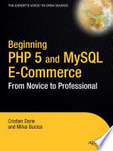 Beginning Php 5 And Mysql E Commerce