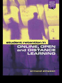 Student Retention in Online, Open, and Distance Learning