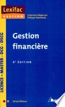 Gestion financi  re
