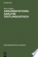 Argumentationsanalyse textlinguistisch