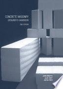 Concrete Masonry Designer S Handbook
