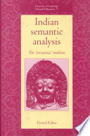Indian Semantic Analysis