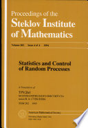 Statistics And Control Of Random Processes