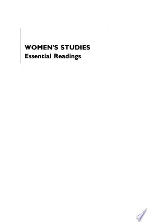Women's Studies: Essential Readings - ISBN:9780814742150