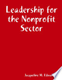 Leadership for the Nonprofit Sector