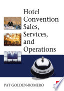 Hotel Convention Sales  Services and Operations