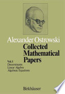 Collected Mathematical Papers