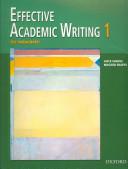 Effective Academic Writing 1