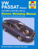 Vw Passat Diesel May 05 To 09 05 To 59