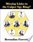 Missing Links to the Culper Spy Ring