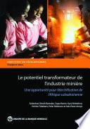 Le potentiel transformateur de l   industrie mini  re en Afrique