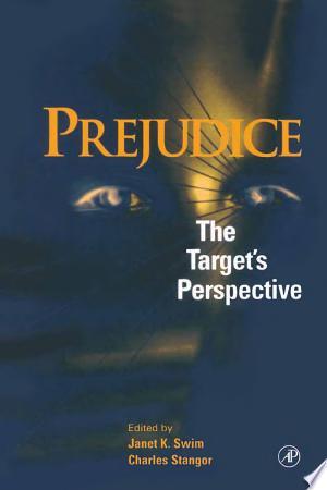 Prejudice: The Target's Perspective - ISBN:9780080539447