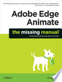 Adobe Edge Animate  The Missing Manual