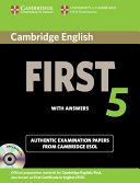 Cambridge English First 5 Self study Pack  Student s Book with Answers and Audio CDs  2