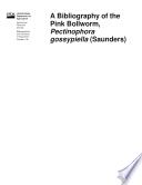 Bibliography Pink Bollworm Pectinophora