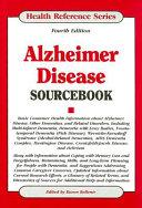 Alzheimer Disease Sourcebook book