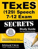 Texes Speech 7 12 129 Secrets