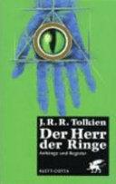 Der Herr der Ringe   4   Anh  nge und Register