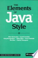The Elements of Java TM  Style