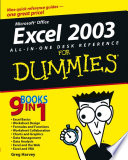 Excel 2003 All in One Desk Reference For Dummies