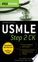 Deja Review USMLE Step 2 CK   Second Edition