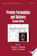 Protein Formulation and Delivery  Second Edition
